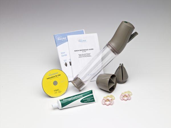Osbon ErecAid™manuel (livré avec sacoche, 1 tube de lubrifiant, 4 anneaux standards, 1 CD-Rom + guide d'utilisation)